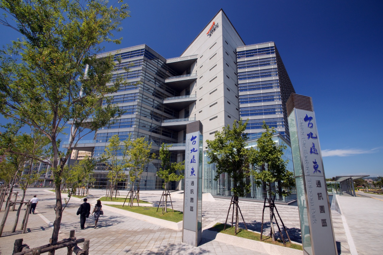 Headquarters in Taiwan(image provide my tpark.com)