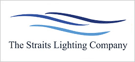 The Straights Lighting Company Logo